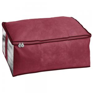 Ordinett salva coperta blanket 2 60x40x26 h. cm bordeaux